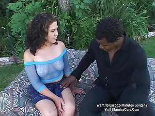 Bionca valentine screwed in the ass and got a facial cum