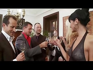 Sarah Twain & Friends Fuck At Swingers Party
