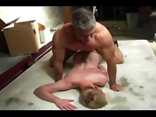 Muscle daddy rough fucks twink free gay muscles porn more on young gay twink videos com