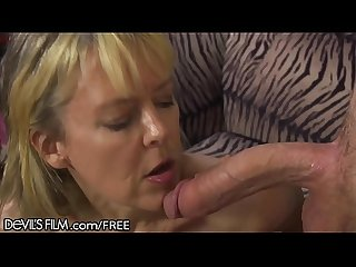 Hot southern grandma gets her young cock