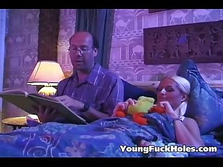 Fucked in her very own bed room