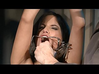 Cruel humiliation and kinky bondage blowjobs