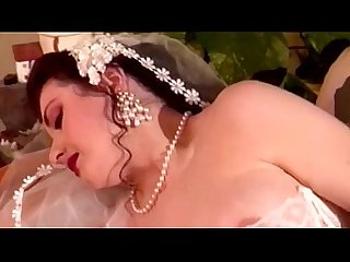 Jessica Rizzo in wedding dress fucking with a guy