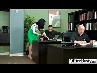lpar jayden jaymes rpar Sexy girl with big boobs banged in Office Movie 14