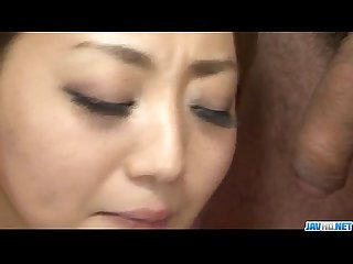 Facial to end�Yuu Shiraishis filthy oral show