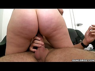 Shy amateur gets creamy in casting