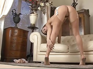 Amazing Stockings Tease, Free Nylon Porn Video 2f xHamster