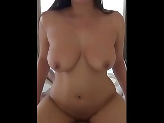 fucking hot married woman creampie on top