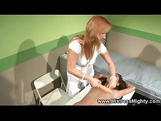 Female slave ravaged by lezdom queen
