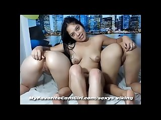 3 Teen Latinas Fingering Ass and Licking Pussy with Baby Oil