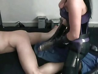 Mistress rivera giant strapon