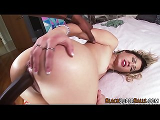 Teen babe pounded by Bbc