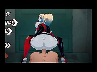 http://HarleyQuinnNude.com Harley Quinn Anime Video Game handjob