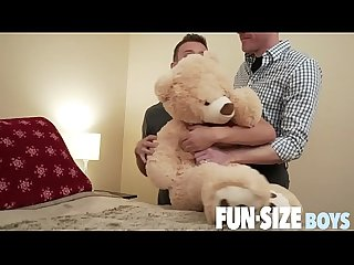 FunSizeBoys - Tiny boy barebacked by giant doctor w/ monster cock