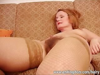 Mature & Hairy - Ivana - Toys Both Holes