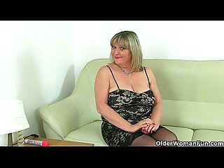 British milfs alisha rydes and diana in sexy pantyhose