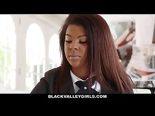 BlackValleyGirls- Preppy School Girl Sucks Cock For Popularity