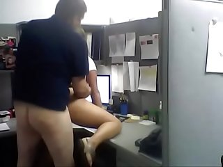 Fucking In The Office Cubicle - SexyCamWomen.com