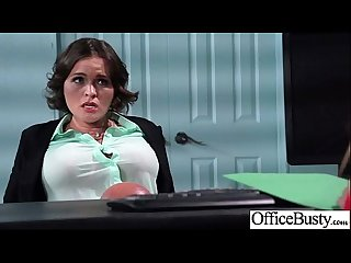 Lovely girl krissy lynn with big tits get banged hard style in office movie 20