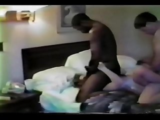Couple with black man bisexual