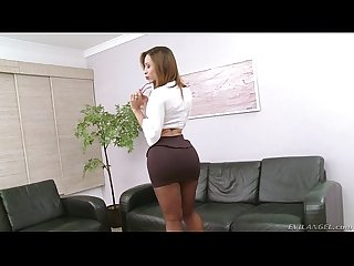 Gabrielli bianco and her massive she cock