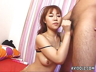 Asian lass rei gest to be sex handled by the boys