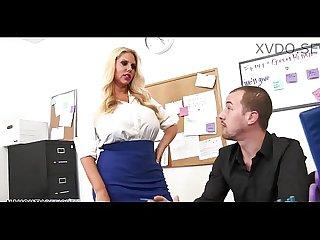 Big tits blonde karen fisher bangs her office co worker xvdo se