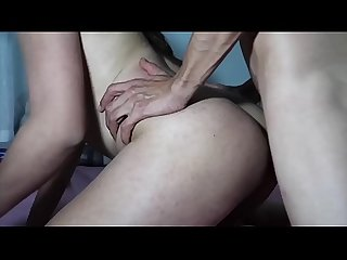 HD - TRANSEX PASSIVA COM UM PIROCUDO/Brazilian shemale get her as fucked by a giant dick