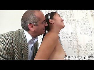 Babe is sucking teacher s cock