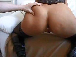 Big butt milf anal creampie