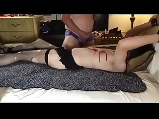 Sissy gets punished