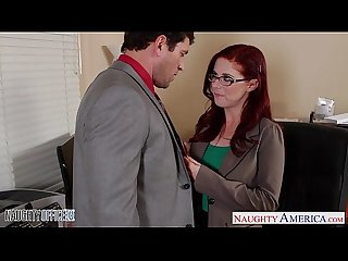 Redhead cutie in glasses penny pax Fuck in the Office