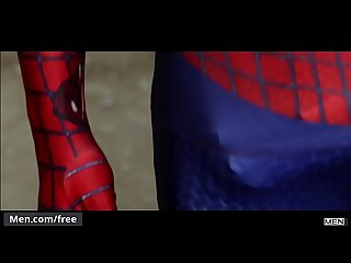 Men.com - (Aston Springs, Will Braun) - Spiderman A Gay Xxx Parody Part 2 -..