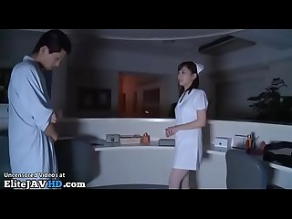 Jav nurse fucked in white pantyhose more at elitejavhd com
