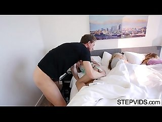 Hollie Mack gets banged by stepdad