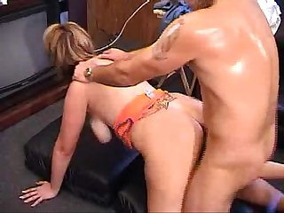 Cheating bitch fucks for cash in front of husband