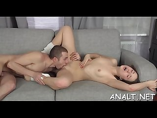 Fulfilling beautys anal needs