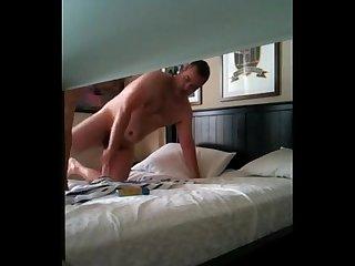 Rapidinha com O porteiro do hotel