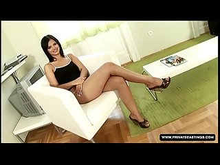 Black Angelika is ready for our anal casting...