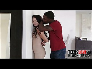 Brunette Teen Fucked By Black Loan Shark