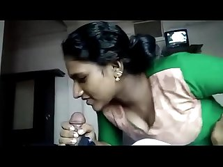 Tamil girl friend sucking and fucking 1st time on cam
