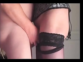 Mature amateur couple shows how to fuck hard properly she is very submissive and get facefucked whil
