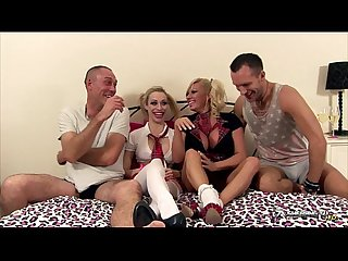 Michelle Thorne & Chessie Kay in orgy show