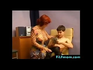 German redhead mom wants son free full family sex videos at filfmom com