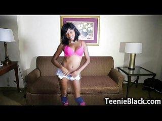 Ebony teen pov fuck and facial