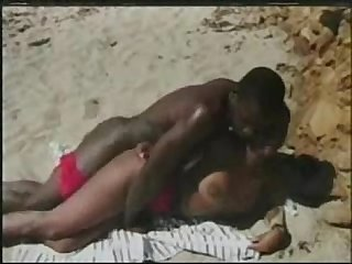 drtuber.com.Horny Ebony Beauty Is Having Nice Banging On The Hot Beach - Free Porn..