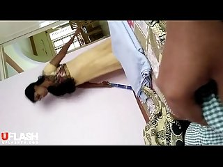 video indian maid watched me wanking with shorts uflash tv