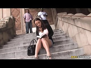 Liza Del Sierra Interracial Anal Threesome