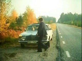 Swedish classic porn Broken car