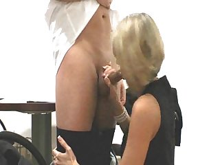 Boss impregnates his young blonde secretary full movie!